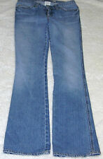 GAP 2 LONG ULTRA LOW RISE DISTRESSED BOOT JEAN MED TO LIGHT WASH