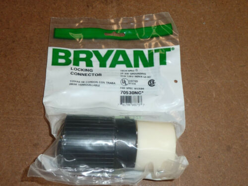 BRYANT 70530NC LOCKING CONNECTOR 70530-NC
