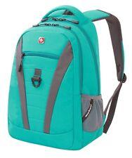 "Swiss Gear SwissGear Teal Tresa 15"" Laptop Tablet School Backpack Book Bag SA587"