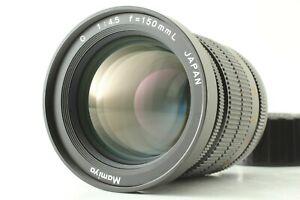 Quasi-Nuovo-Mamiya-150mm-F4-5-G-NUOVO-Mamiya-6-L-Obiettivo-Fotocamera-MF-Giappone
