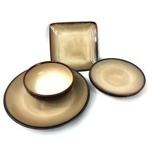 Sango-China-Nova-Brown-4933-Replacements-bowl-plate