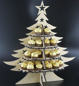 Christmas Tree - Ferrero Rocher  Stand-  MDF Double Sieded  holds 48 sweets