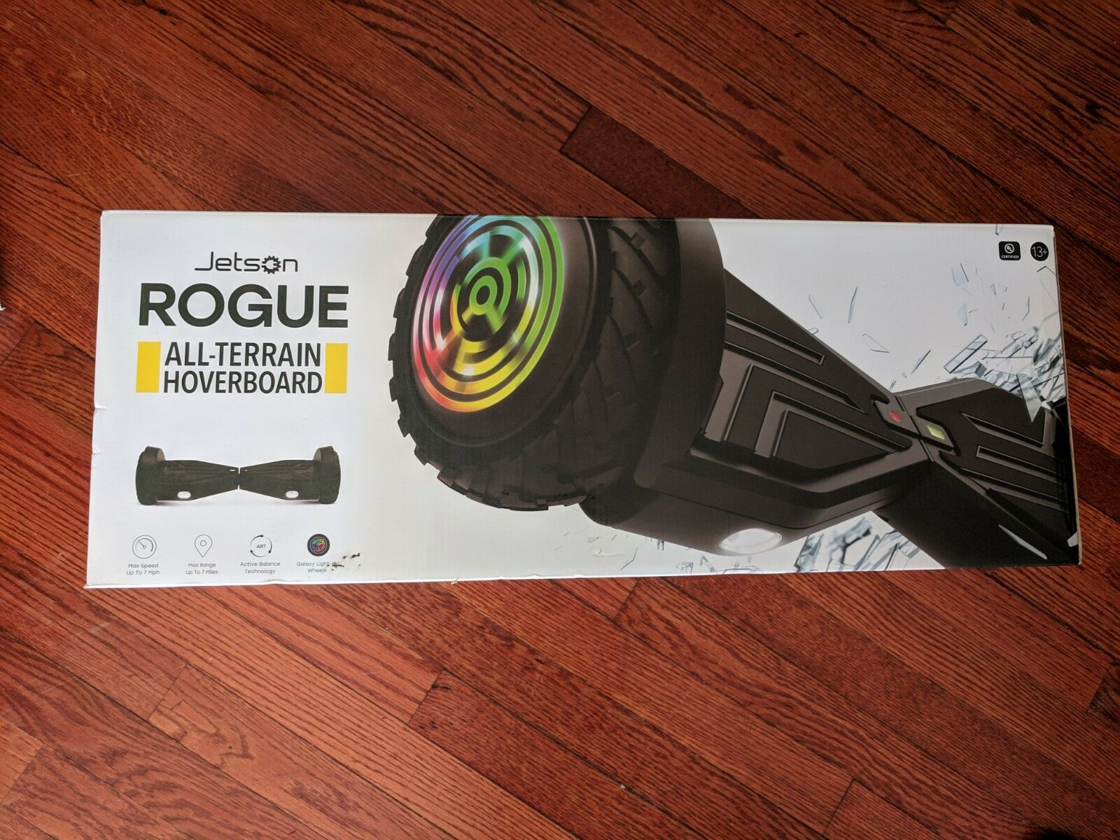 Jetson Rogue with Light-Up Wheels - All Terrain - BRAND NEW