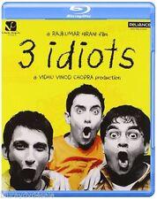 3 IDIOTS Blu-Ray hindi bollywood indian sale Aamir Khan Kareena Kapoor NEW