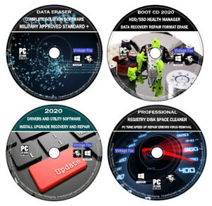 PC Health Check Data Recovery Diagnostic Repair Registry Cleaner Drivers Install