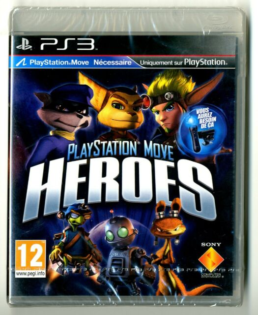 JEU PS3 ★ PLAYSTATION MOVE HEROES ★ NEUF SOUS BLISTER ★ SONY PLAYSTATION 3