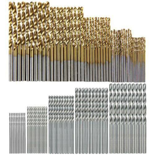 100pcs HSS High Speed Steel Twist Drill Bit Set Woodworking Tool 1 3mm New Mbyss