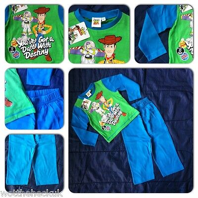 Toy Story Buzz Lightyear Woody Pyjamas PJ Nightwear Light Year PJS Boys Kids