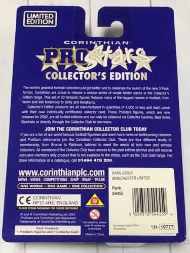C2 Corinthian ProStars Figure Collector/'s Edition Ryan Giggs Dennis Bergkamp