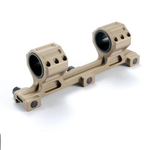 1 inch Tactical Scope Rings Mount Heavy Duty High Caliber 30mm Dark Earth BB