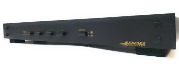 Vriendelijk Audioplex Technology 404-gwh Multi Speaker Input And Output At-3 Straatprijs