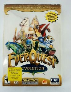 EverQuest (Evolution Edition) (3-Disc PC) Original Game Plus