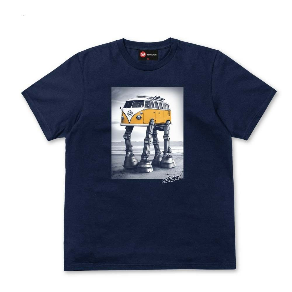 Chunk Star Wars Wandern Reisemobil Marineblau T-Shirt  | Luxus  | Shopping Online  | Verkauf Online-Shop