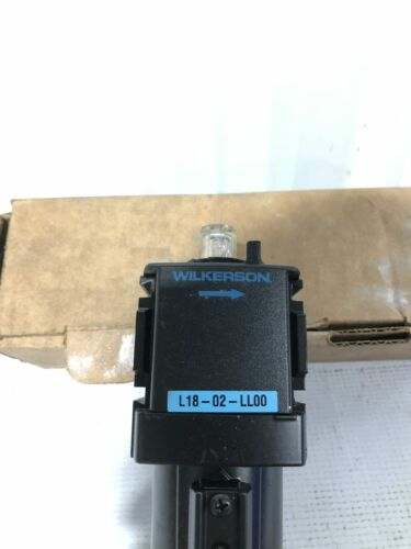 NIB Wilkerson Lubricator L18-02-LL00 Air Line Lubricator