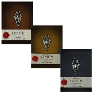 Elder-Scrolls-V-Skyrim-The-Skyrim-Library-Vol-1-3-3-Books-Collection-Set