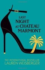 Last Night at Chateau Marmont, Lauren Weisberger | Paperback Book | Acceptable |