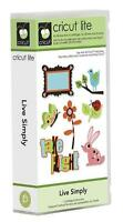 Cricut Live Simply Shapes Cartridge Sealed Cute Animals, Butterflies...