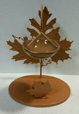 Yankee Candle Auburn Foliage Fall Leaves Tart Burner Warmer New!