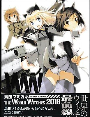 Shimada Fumikane The World Witches Strike Humikane WW Japanese Artbook US Seller