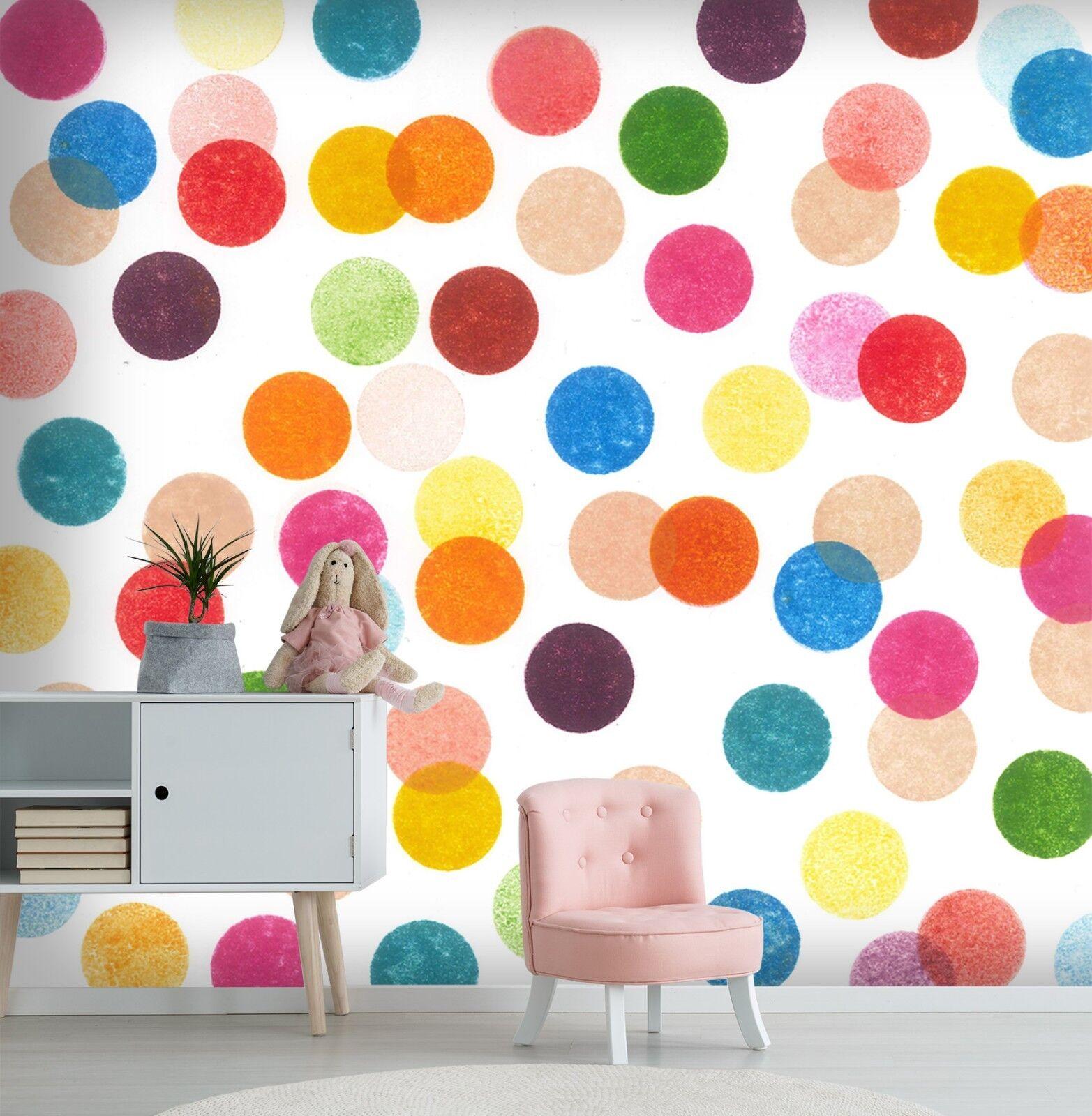 3D Gefärbt Gefärbt Gefärbt Punkt 869 Tapete Wandgemälde Tapete Tapeten Bild Familie DE Sidney  | Konzentrieren Sie sich auf das Babyleben  | Langfristiger Ruf  | Billig ideal  543942