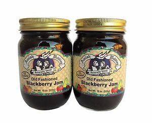 Amish Wedding Foods.Two Amish Wedding Foods Old Fashioned Blackberry Jam 18 Oz Glass