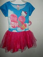 Hello Kitty Dress (m-7-8) Girls With Tags