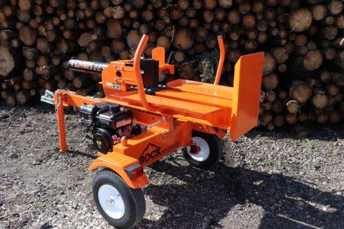 2019 22ton VENOM wood log Splitter Petrol Hydraulic Road Towable BS Vanguard