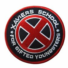 Marvel Comics X-Men Red Xavier's School Embroidered Patch