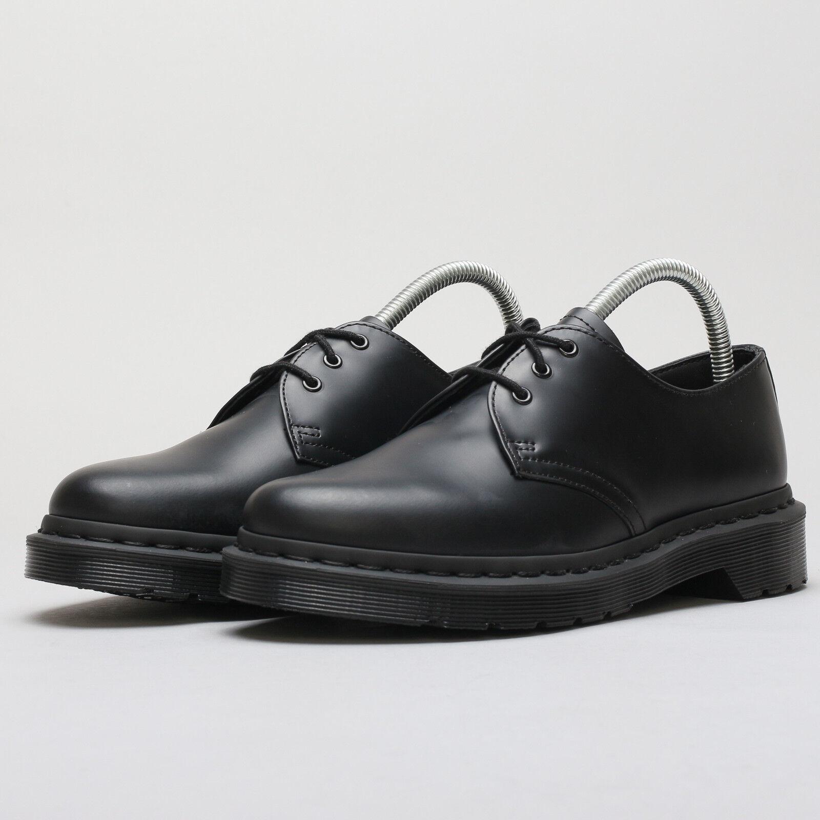 Dr. Martens 1461 mono negro smooth UE 43, negro, dm14345001