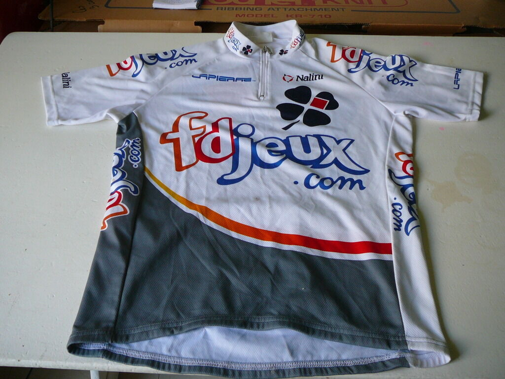 Bike jersey french games Nalini vintage L
