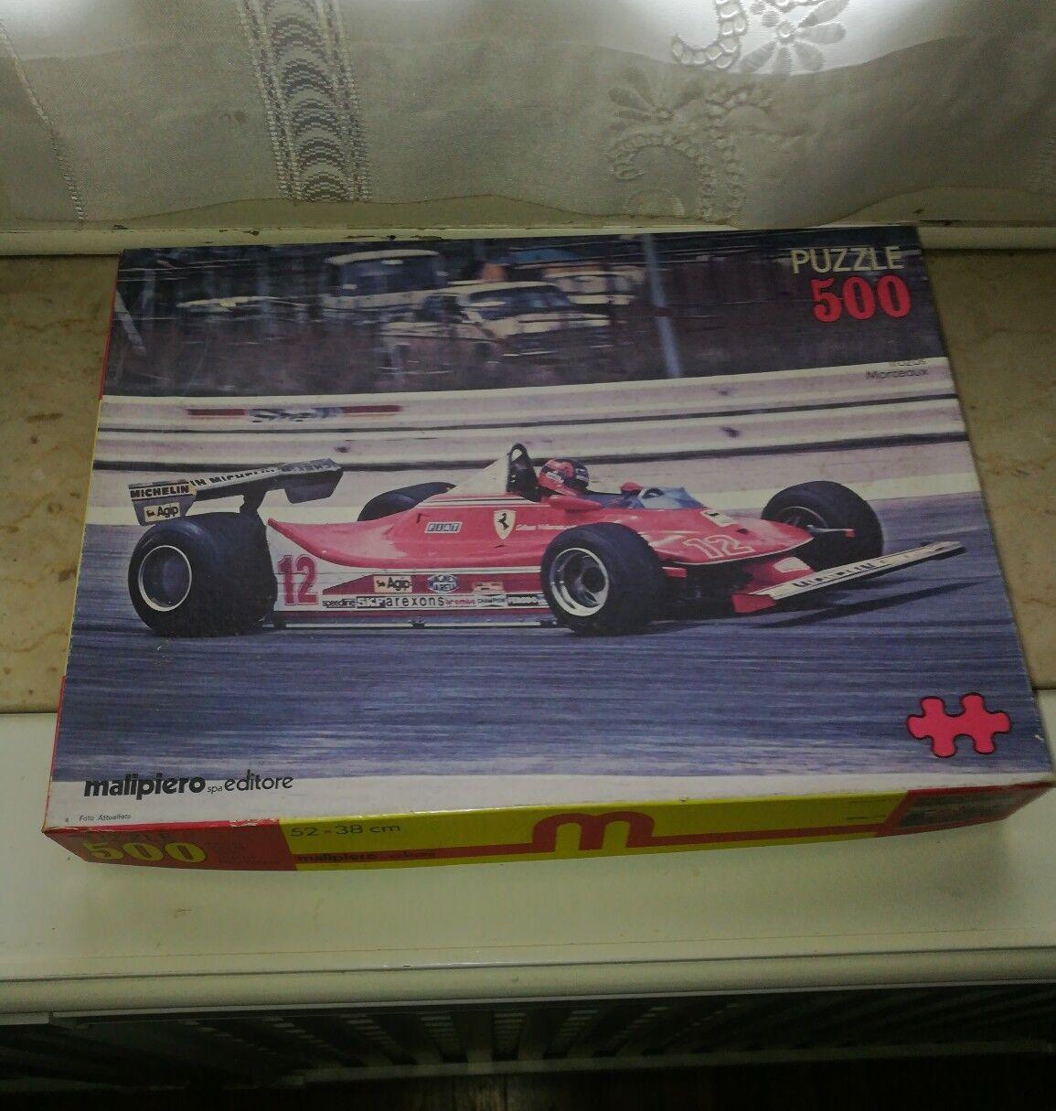 Puzzle Ferrari 312 T4 Villeneuve  Malipiero  una marca di lusso