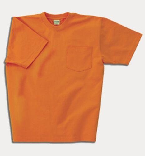 Tall Mens Max-Weight Hwt Pocket T-Shirt M to 6XLT