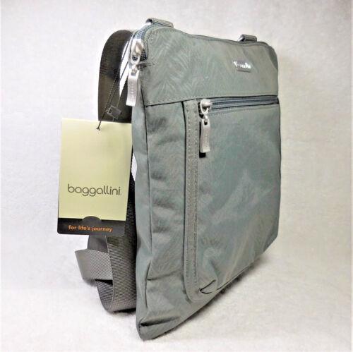 Zebra 741980871913 Crossbody New Grey Slim Sicherheitsleine Organisatoren Baggallini Pocket wvBaqSXxg