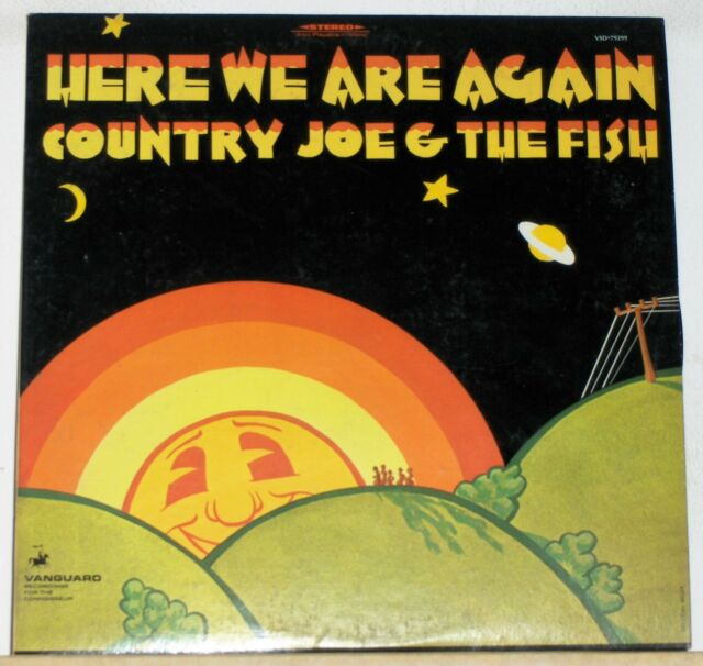 Country Joe & The Fish - Here We Are Again - Original 1969 LP Record with insert