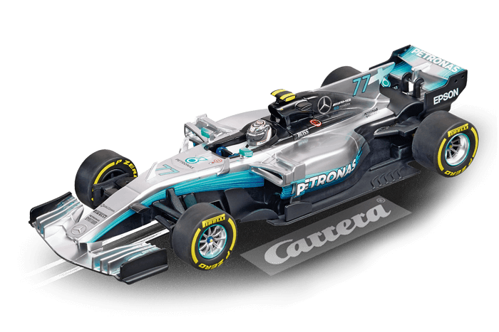 Carrera Digital 132-Mercedes F1 W08 EQ Power  V. Bottas, No.77