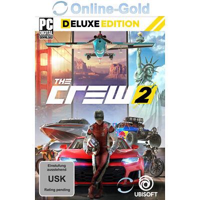 The Crew 2 Deluxe Edition - PC Uplay Spiel Digital Download Code [Vorbestellen]