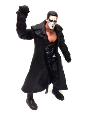 wwe tna wrestling superposeable full costume classic sting 6 figure toy