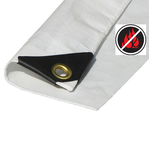 Tent Replacement Cover only Fire Retardant 10x20Canopy Tarp with valance