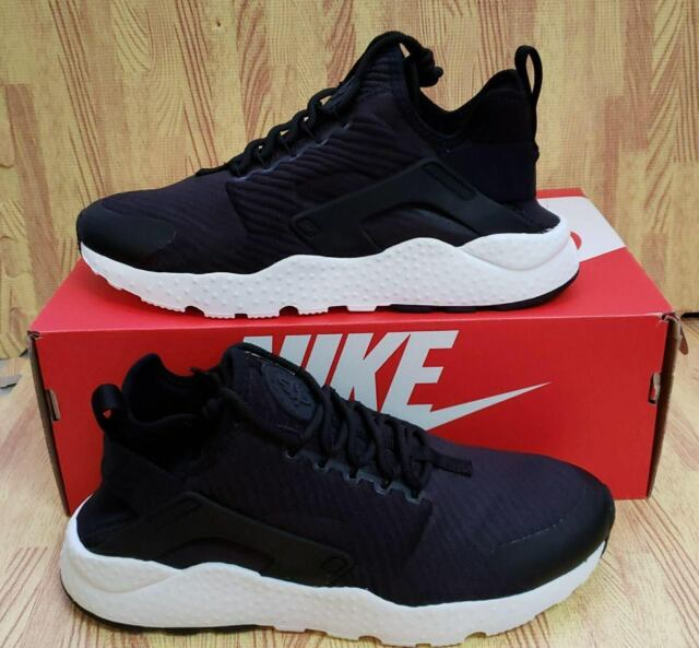 33088daae1e0 Buy Nike Womens Air Huarache Run Ultra SE Black White Running Shoes ...