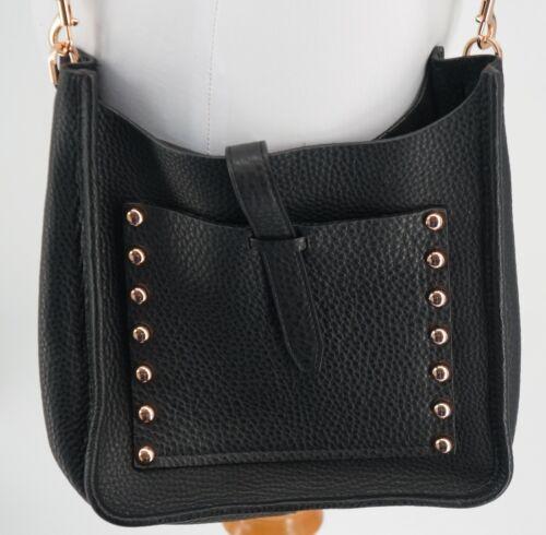 Rebecca Minkoff Leather Feed Sack Crossbody Handb… - image 1