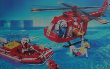 PLAYMOBIL SAUVETEURS Goupille Rouge Rotor Hélicoptère 3845 3130 4428 Y4130