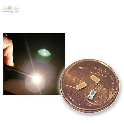 10 warmweiße SMD LEDs 3014, warm weiß white bianco blanc SMDs Led Lok golden SMT