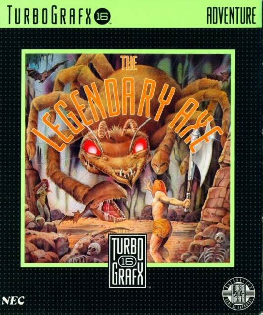 Legendary Axe- Turbografx-16 Game - Complete Game