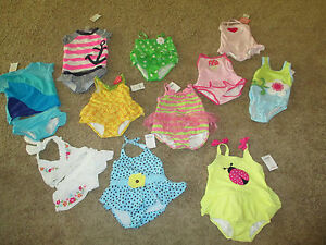NWT Gymboree Girl Swim Shop Ice Cream Swimsuit /& Heart Cover Up Set 2T 3T 4T 5T