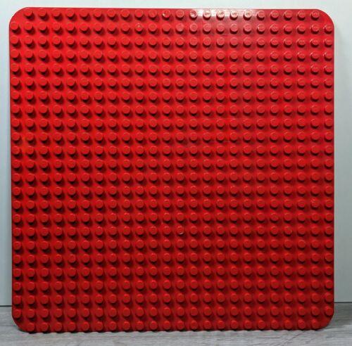 Lego DUPLO Placa Base//placa Rojo Grande 24 X 24 con placa base