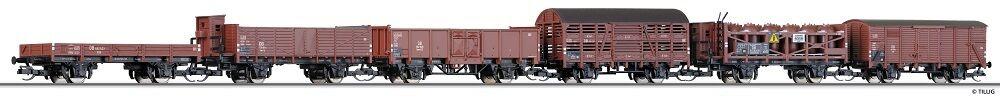 TT Güterwagenset 6-teilig DB Ep.III Tillig 01644  | Erste in seiner Klasse
