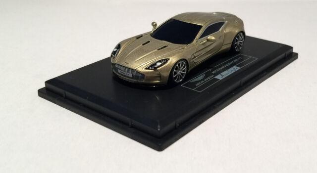 Aston Martin One-77 Schwarz Black Limited H0-01 1:87 Modellauto Fronti-Art HO-07