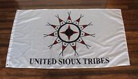 United Sioux Tribes Flag Native American Indian Oglala Lakota Nation Tribal