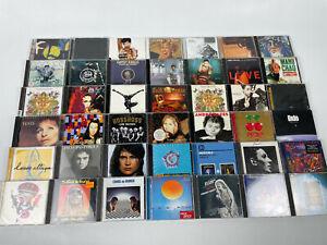 CD-Sammlung-Alben-42-Stueck-Rock-Pop-Hits-siehe-Bilder-u-a-Steve-Wonder