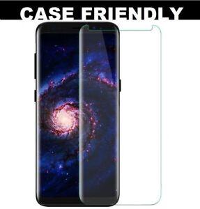Pour-Samsung-Galaxy-S8-pleine-courbe-3D-Verre-Trempe-LCD-Protecteur-d-039-ecran-clair
